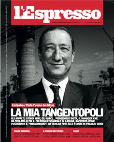 La copertina dell'Espresso in edicola da venerdì 13 giugno