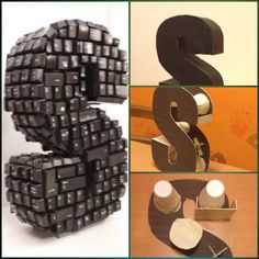 Very personalized 3D letter
