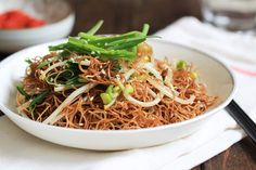 Soy Sauce Fried Noodles (Pan Fried Noodles ) – China Sichuan Food