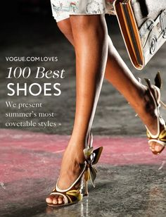 Shoes in Vogue!