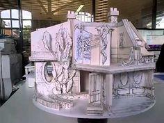 Anya Hindmarch LFW Diary - Miniature Set Model Revolving