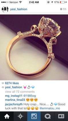 Love this vintage wedding ring!
