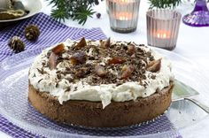 Daddelkake. Levert av: Camilla Agerup. Foto: Anders Martinsen Tiramisu, Cheesecake, Camilla, Ethnic Recipes, Desserts, Food, Tailgate Desserts, Deserts, Cheesecakes