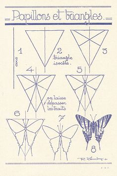 40 Easy Step By Step Art Drawings To Practice – Bored Art – Welcome Drawing Lessons, Drawing Techniques, Drawing Step, Drawing Ideas, Wings Drawing, Drawing Drawing, Butterfly Drawing, How To Draw Butterfly, Drawings Of Butterflies