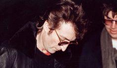 John Lennon before he was shot dead