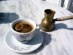 Greece: | Morning Coffee From Around The World. More pics here.