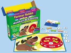 Numbers & Counting Folder Game Library - Pre-K-K at Lakeshore Learning