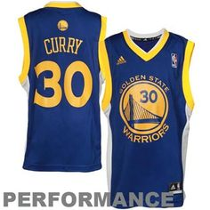 531084386c5c Youth Golden State Warriors Stephen Curry adidas Royal Blue Road Replica  Jersey