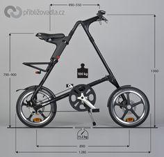 Folding bike Strida LT | Skládací kolo Strida LT > Priblizovadla.cz