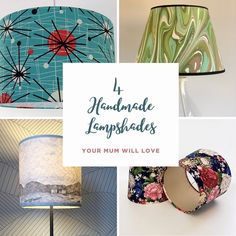 Although we're not denying anyone chocolates and flowers (they're our favorites too!) for Mother's Day this year why not treat your Mum to something that will stand the test of time? Check out our new blog post with some inspiring handmade lampshades in case you don't have the time to make your own with one of our kits 😉 Beautiful designs by @candidowl @littleredrobinco @janeandthelampshadeloft @a_northern_light_ - - - #mothersday #mothersdaygift #madeformums #lampshadegift #lampshade…