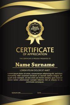Certificate Frames, Certificate Of Appreciation, Surnames, Lorem Ipsum, Dating, Personalized Items, Certificate Templates, Free Vector Art, School