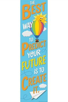 """Greet your students and classroom visitors with a warm welcome using Eureka School Banners! Banner measures 12"""" x 45"""".  #growthmindset #teacher #teachersupplies #classroominspo #classroomsupplies #classroomtheme #classroomposter #inspirationalposters"""