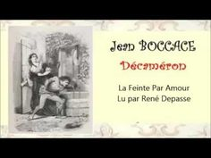 Jean BOCCACE – La Feinte Par Amour - Livre audio - YouTube