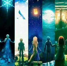 Los guardianes The Big Four, Rise Of The Guardians, Rapunzel, Jack Frost, Disney Magic, Disney Art, Disney Pixar, Great Movies, Hiccup