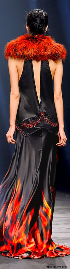 ~ Living a Beautiful Life ~ Milan Fashion Week Roberto #Cavalli Fall/Winter 2014 RTW