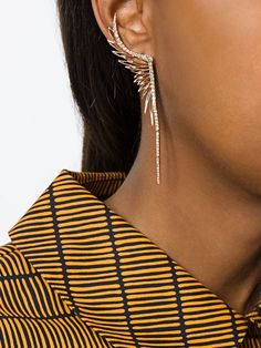 Cristina Ortiz wing earring