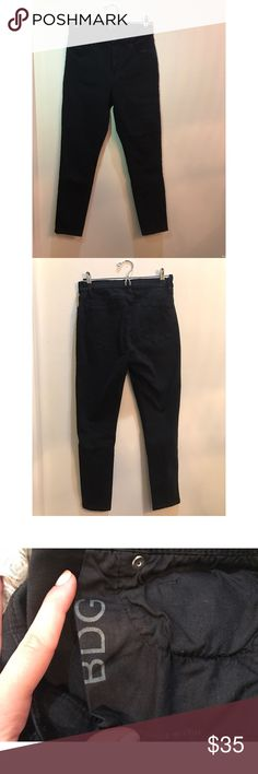 BDG Urban Outfitters black cropped skinny jeans Stretchy, comfy, flattering black skinnies BDG Jeans Skinny