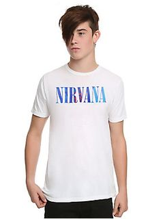 Nirvana Sliver Logo T-Shirt | Hot Topic