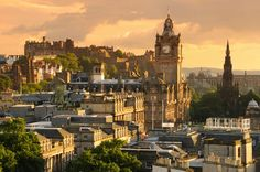 While dramatic #windswept #hills make #Edinburgh a sight to behold, its rich history makes it a city to remember. From the world-famous #EdinburghCastle, to #St.GilesCathedral, to Real Mary #King's Close and the #Museum of #Scotland, the sights are plentiful. Visit Edinburgh during #Hogmanay (a days-long #Scottish new year celebration full of food, drink and local traditions) and you'll be one of 80,000 revellers in the city! And yes, you must try the traditional #fruitcake