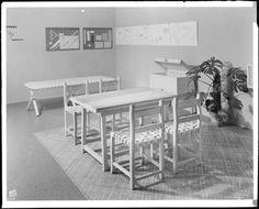 Museo de Arte Moderno de Nueva York 1941- Clara porset- Xavier Guerrero- Organic Design In Home