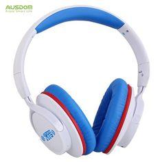 Hoy con el 47% de descuento. Llévalo por solo $148,500.AUSDOM AH861 con cable e inalámbrica Bluetooth de la venda de los auriculares con micrófono.