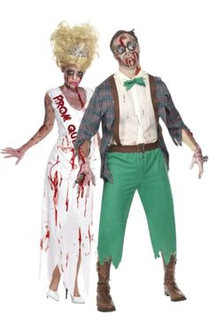 Prom Queen & Geek Zombie Combination