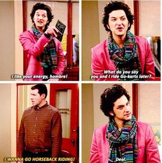 Jean-Ralphio and Craig ~ Parks and Recreation Parks And Rec Memes, Parks And Recs, Parks And Recreation, Movies Showing, Movies And Tv Shows, Lito Rodriguez, Parks Department, Pride And Prejudice, Deep