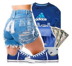 """Untitled #931"" by kaja-bear ❤ liked on Polyvore featuring adidas, Barneys New York and Converse"