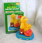 Big Bird Antique Novelty Transistor Radio Vintage Sesame Street w/old Tube Radio - http://collectibles.goshoppins.com/radio-phonograph-tv-phones/big-bird-antique-novelty-transistor-radio-vintage-sesame-street-wold-tube-radio/
