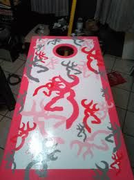 I WANT THESE!!!   Browning cornhole boards :)