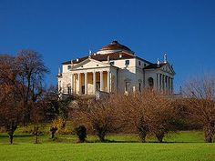 "Bucket List: Visit Italy & see the area I was born in - Villa Capra ""La Rotonda"" - famous architecture in my hometown of Vicenza. La Rotonda is a pilgrimage destination for architects till this very day."