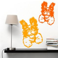Dog Decal Shih tzu Crazy, Vinyl Sticker Decal - Good for Walls, Cars, Ipads, Mirrors Etc by PSIAKREW on Etsy