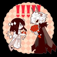 Oh! Kcalb loves chocolate, and Etihw is bringing him that! Cute!