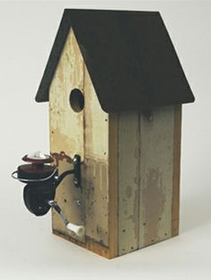 Fishing Reel birdhouse - - Wing Ding Constructions