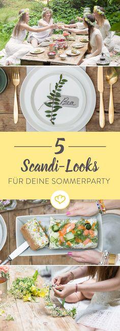 Trevlig midsommar! Für die Schweden der wichtigste Feiertag des Jahres und für dich ein Grund, eine Scandi-Party zu schmeißen. Wir zeigen dir, wie das geht!