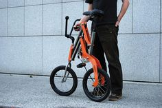 Best folding bike ever? #folding #bicycle