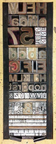 Form setup for 2 color Letterpress Helvetica Poster Print reward designed and printed by Richard Kegler