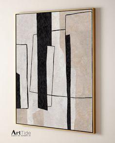 Living Room Decor Etsy, Diy Canvas Art, White Canvas Art, Abstract Wall Art, Abstract Acrylic Paintings, Modern Art Paintings, Painting Art, Urban Art, Painting Inspiration