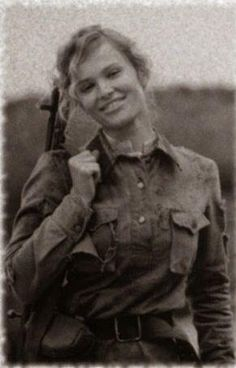 A Yugoslav partisan fighter in World War II.