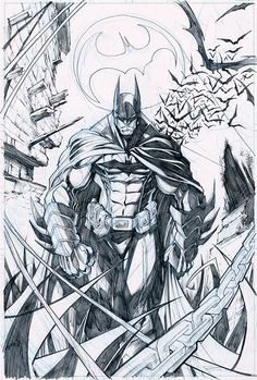 My favorite DC comics character Enjoy! Art: Gerardo Sandoval Page Batman - Batman Canvas Art - Trending Batman Canvas Art - My favorite DC comics character Enjoy! Art: Gerardo Sandoval Page Batman Copyright DC Comics Batman Painting, Batman Artwork, Batman Comic Art, Batman Batman, Batman Arkham, Batman Robin, Dc Comics Characters, Dc Comics Art, Character Drawing