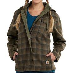 Carhartt Fargo Canvas Jacket - Insulated (For Women)