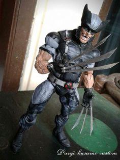 Wolverine x-force (Marvel Legends) Custom Action Figure