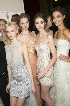 #Zuhair Murad Spring 2013 Haute Couture #Backstage