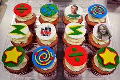 Big Bang Theory Cupcakes by Simply Sweet Creations (www.simplysweetonline.com)