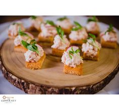 'The Copper 🗝Key' Lobster Salad with Lemon 🍋Aioli on a Crostini with Radish and Tarragon 🌱...  Let us assist you with your cocktail 🍸 party, corporate event, and special 🍾🎉occasion or 👰🏼wedding. menu ideas and options check us out and/or request a quote @ www.thecopperkey.net/ 🍽SERVING GREATER LOS ANGELES & THE SAN FERNANDO VALLEY Request a quote 📞424.218.5375 #thecopperkey #thecopperkeycateringandevents  #dtla #losangeles #losangeles