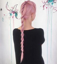 Easy Rope Braid For Long Hair