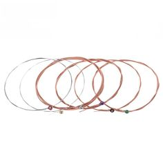Amazon.com: Getaria GE-MGS-TX-1-1ST-E010-02 Single String Replacement for Acoustic Folk Guitar 1st E-String (.010) 10-Pack High-carbon Steel Core 75/25 Phosphor Bronze Extra Light Tension: Musical Instruments Pure Copper, Copper Wire, Acoustic Guitar Strings, High Carbon Steel, Steel Material, Different Colors, Folk, Bronze, Guitar Players