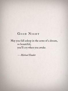 Good night - Michael Faudet