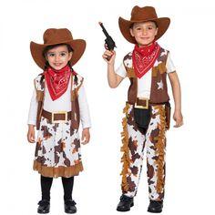 Kinderkostüm Cowgirl, Cowboy