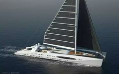 SAIL POWER YATCH FUTURE FUSION  BY VON DE MARK AND O'NEAL